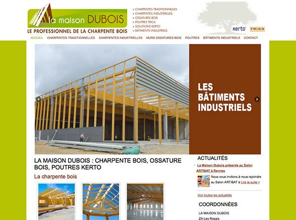 Site Internet Maison Dubois